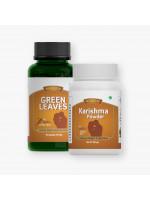 Green Leaves and Karishma Powder